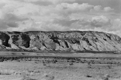 Autolandscape, Utah vintage gelatin silver print