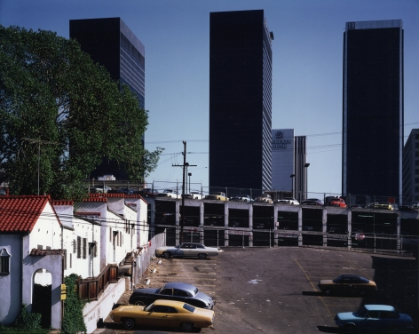 Downtown Los Angeles from the 600 Block of Bixel Street, 1979