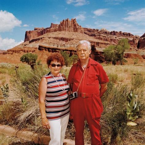 Couple at Capitol Reef National Park, Utah