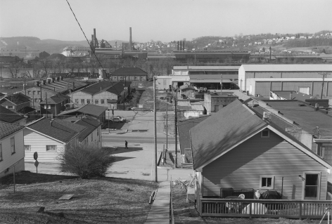 View of Mingo Junction, Ohio, from Follansbee, West Virginia