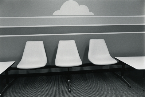 Cloud Break, Los Angeles, 1978, vintage gelatin silver print