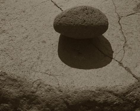 A Stone on a Rock, Nagano, Japan, 1988