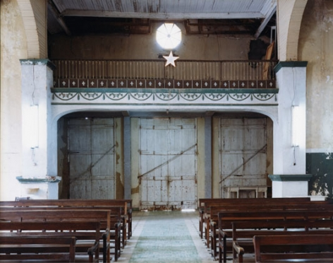 Catedral Nuestra Señora de la Asunción, Baracoa, Cuba, 2004, chromogenic print