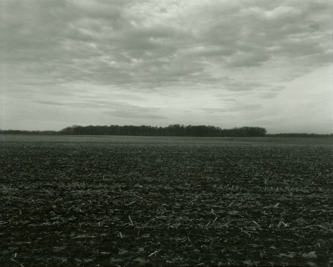 Untitled, from Illinois Landscapes, 2014, gelatin silver print, 8 x 10 inches