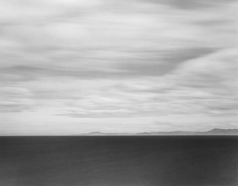 Toward Dunedin, South Pacific, 2003, gelatin silver print