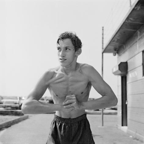 Boy Flexing, 1983-84