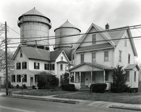 Houses and Water Towers, Moorestown, NJ