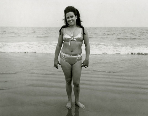 Coney Island, NY, 1970, vintage gelatin silver print, 8 x 10 inches
