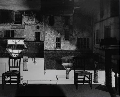 Abelardo Morell, Courtyard Building, Lacock Abbey, England, March 16, 2003