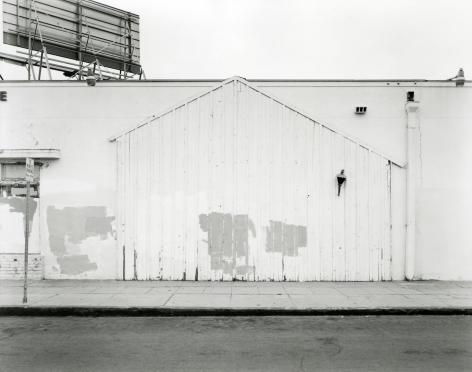 Industrial Building, San Diego, 2016, gelatin silver contact print