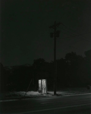 Telephone Booth, 3 am, Railway, NJ