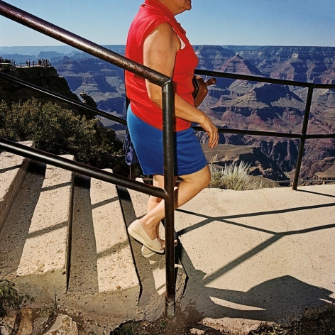 Arriving at South Rim Overlook, Grand Canyon National Park, Arizona