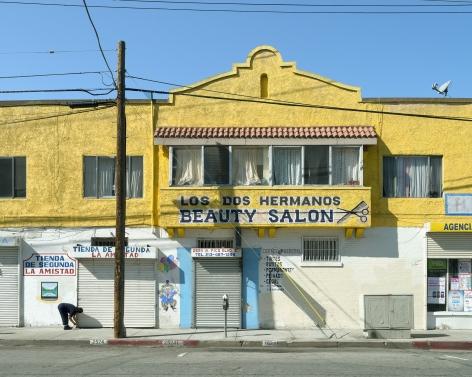 Los Dos Hermanos, Pico Boulevard, Los Angeles, chromogenic print