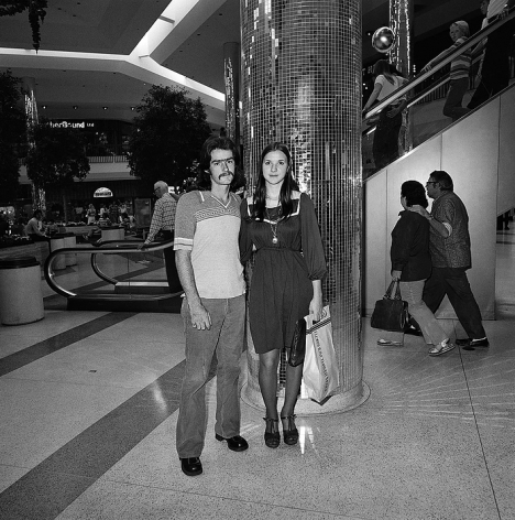 Couple at Shopping Mall, from Southland