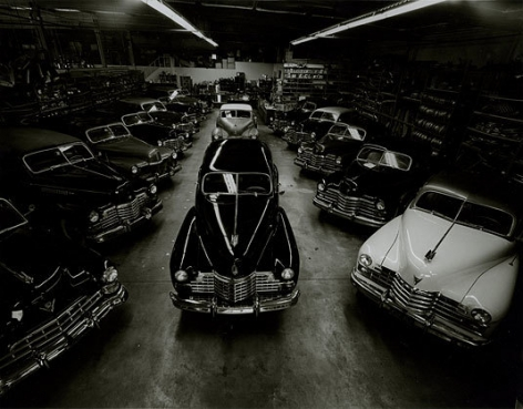 Cadillacs of the 40s, Sylmar, California