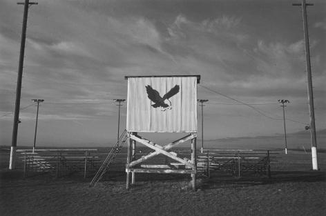 Mid-Way High School Eagle, Athletic Field, near Atchison, Kansas, 1977