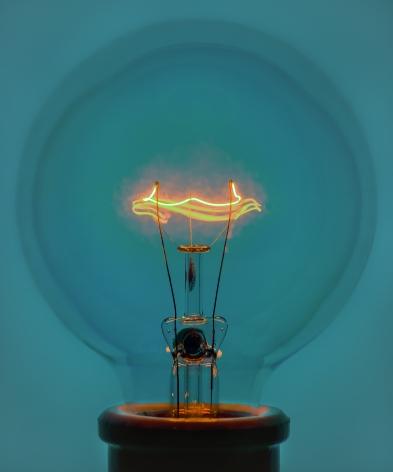 Light Bulb 1 Blue (version 2), 2018