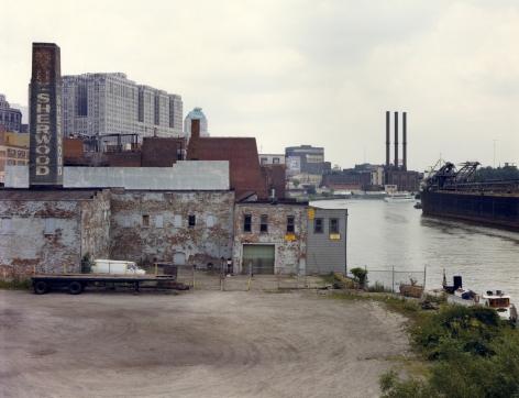 Cleveland, c. 1983, vintage Ektacolor print