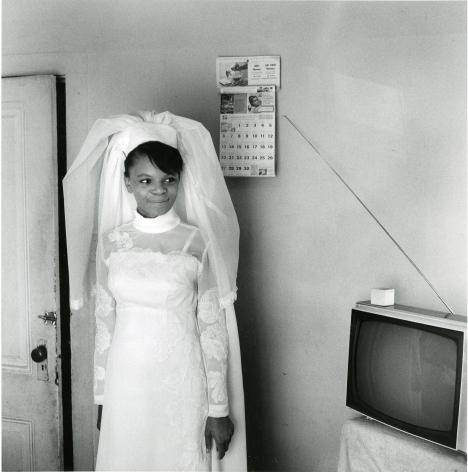 Ruth Esther's Wedding Dress, 1970