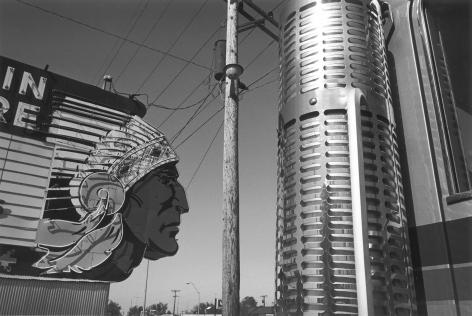 Chief Drive-In Sign, Topeka, Kansas, 1977