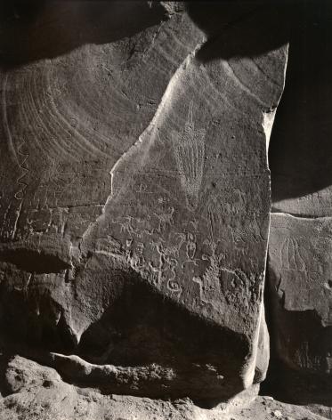 Petroglyphs, Moab, Utah, 1987