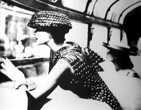 """More Fashion Mileage Per Dress"", Dress by Filcol, Barbara Vaughn, New York, Harper's Bazaar, February 1956, gelatin silver print, 16 x 20 inches"