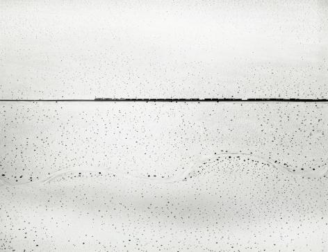 William Garnett, Train Crossing Desert, Kelso, CA