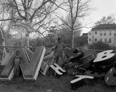 Vicksburg, Mississippi - Big Letters, 1984