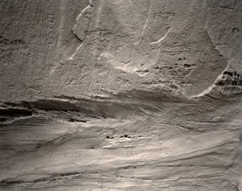 Spanish Alphabet, Inscription Rock, New Mexico, 1983