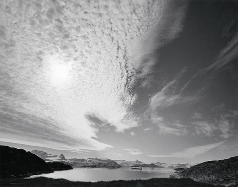 Diane Cook, Disko Bay, Ilulissat, Greenland, 1999, gelatin siver print