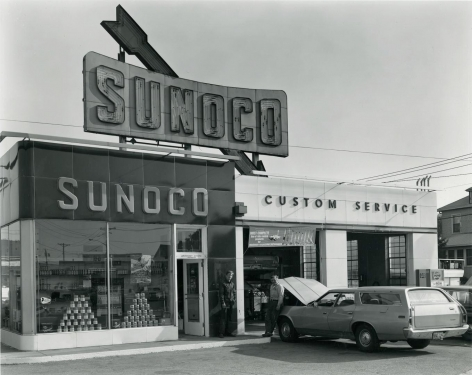 Triangle, Sunoco Station, South Hackensack, NJ