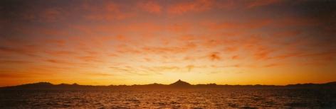 Dawn, Horno Corcovado, Golfo de Corcovado, Chile