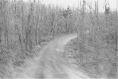 Bend in the Road, 1979, vintage gelatin silver print