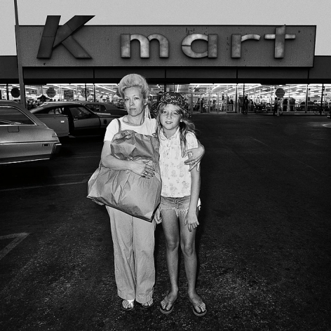 Mother and Daughter at Kmart, from Southland