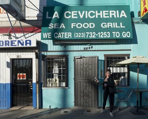 La Cevicheria, Pico Boulevard, Los Angeles, chromogenic print