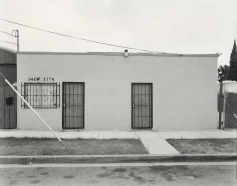 Industrial Building, National City, CA, 2019, gelatin silver contact print