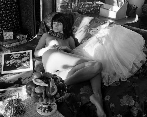 Monica with Ballet Skirt