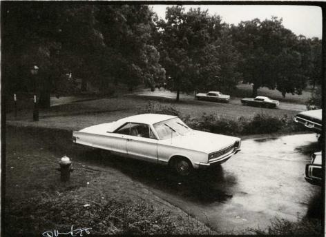 Frank Trapp's Car, 1973, vintage gelatin silver print (Itek print)