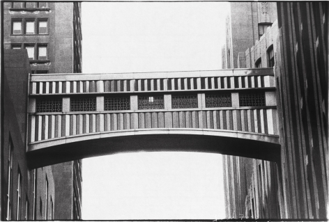 Metropolitan Life Walkway, 1976, vintage gelatin silver print (Itek print), 18 x 24 inches