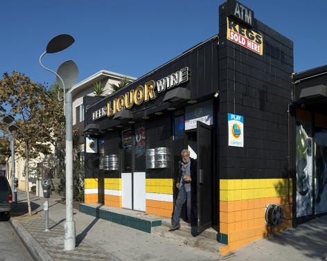 Liquor Store, Pico Boulevard, Los Angeles, chromogenic print