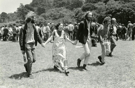 Laughing Hippies, Golden Gate Park