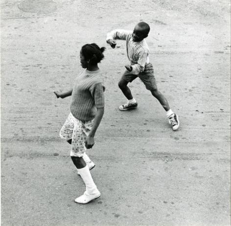West Oakland, CA, Dancing Children, 1967