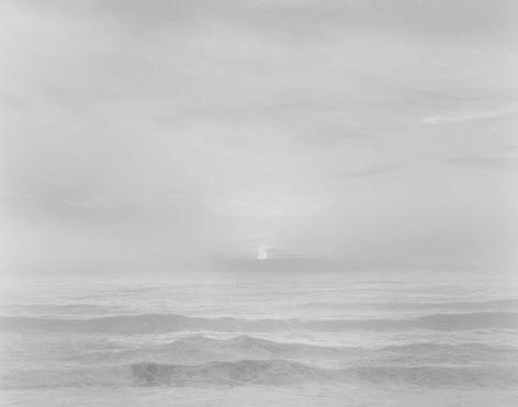 Chip Hooper, Sunset, Bonny Doon Beach, 2002, gelatin silver print, 20 x 24 inches