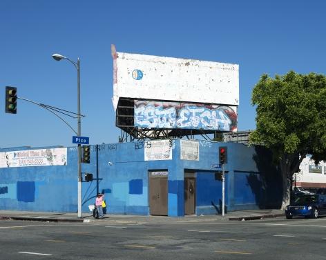 1250 South Broadway, Pico Boulevard, Los Angeles, chromogenic print