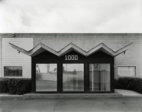 Industrial Building, El Cajon, Ca, 2018, gelatin silver contact print