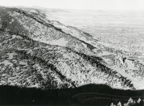 Robert Adams, North from Flagstaff Mountain, Boulder County, Colorado