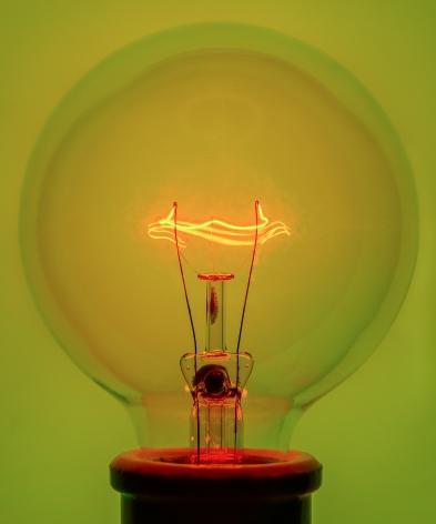 Light Bulb 1 Yellow, 2018