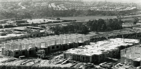 Apartments and Trailer Park, Tierra Santa, San Diego, CA