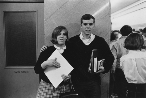 Students at school, 1968