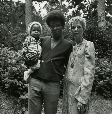 Couple with Child, Golden Gate Park, San Francisco 1968